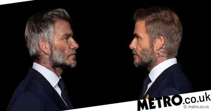 David Beckham reveals what he'll look like at 70 as he fronts malaria campaign