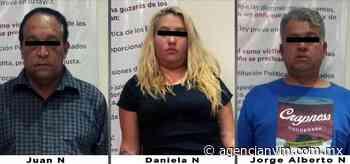Detienen en Naucalpan a tres probables asaltantes - Agencia NVM