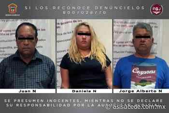 FGJEM y Municipales de Naucalpan capturan a tres asaltantes - Noticiario Así Sucede