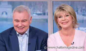 Ruth Langsford praises 'handsome' Eamonn Holmes in heartwarming birthday tribute