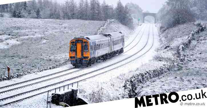Snow up to 10cm deep to fall in UK with temperatures plummeting to -10C