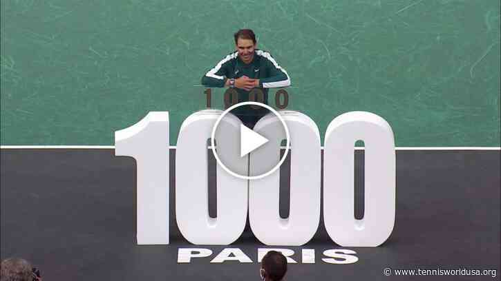 2020 memories: Rafael Nadal's 1000 career wins