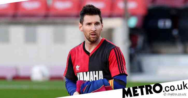 Lionel Messi fined for Diego Maradona tribute during Barcelona match