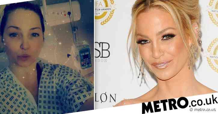 Sarah Harding 'fighting as hard as she possibly can' as she writes her life story during cancer treatment