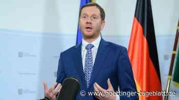 Sachsens Regierungschef Kretschmer droht mit hartem Lockdown