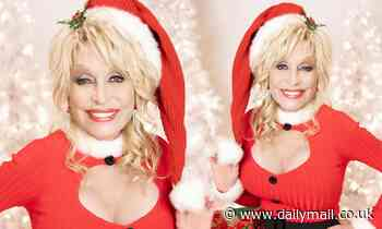 Dolly Parton dresses as Mrs Claus for appearance on annual Christmas In Rockefeller Center special