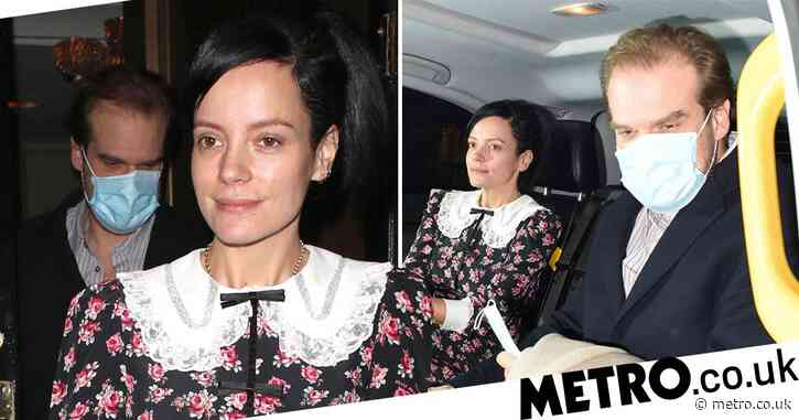 Lily Allen and husband David Harbour celebrate end of lockdown in style with sweet date night