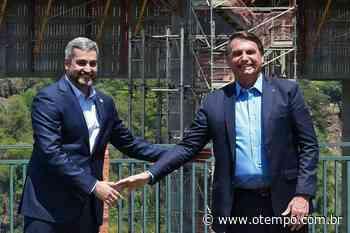 Presidentes de Brasil e Paraguai visitam obra de 'nova Ponte da Amizade' - O Tempo