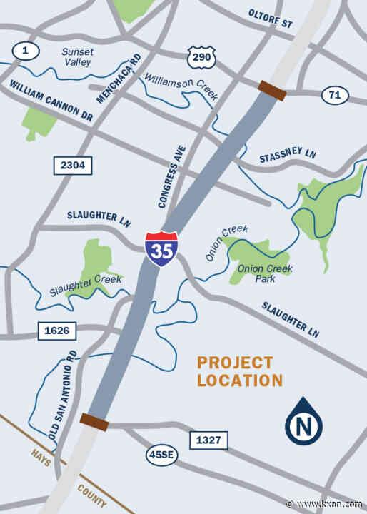 TxDOT proposes elevated HOV lanes along south I-35 near SH 71