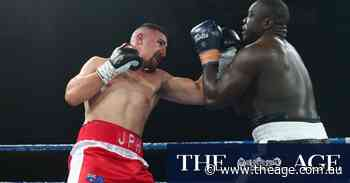 Justis Huni does nothing to quell hype in four-round stoppage win