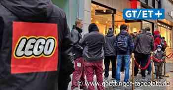 Lego Store Hannover eröffnet: Lange Warteschlange in der City