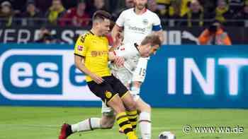 Eintracht Frankfurt gegen Borussia Dortmund live im TV und Stream: Übertragung der Bundesliga