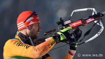 Biathlon jetzt im Liveticker: Peiffer auf Podest-Kurs, Johannes Thingnes Boe geschlagen