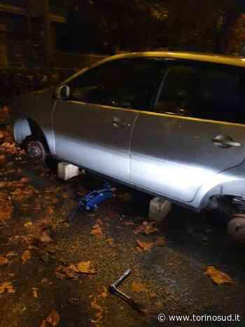 ORBASSANO - Altro caso di auto lasciata sui mattoni: ormai è allarme - TorinoSud
