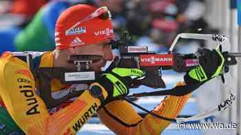 Biathlon jetzt im Liveticker: Peiffer stürmt aufs Podest, Johannes Thingnes Boe geschlagen