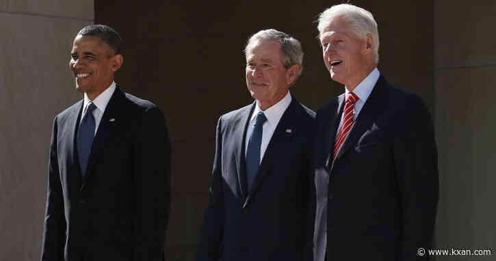 Obama, Bush, Clinton volunteer to receive coronavirus vaccine on camera