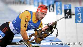 Biathlon-Sprint - Peiffer als Sandwich zwischen den Bö-Brüdern