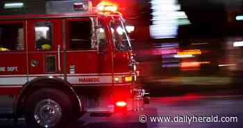Fire destroys home in Algonquin