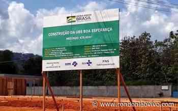 Ouro Preto do Oeste recebe verba para construção de nova UBS - Rondoniaovivo