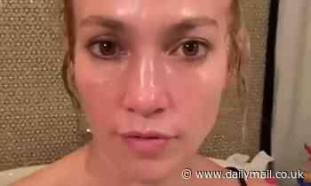 Jennifer Lopez, 51, shocks fans by going completely MAKEUP-FREE