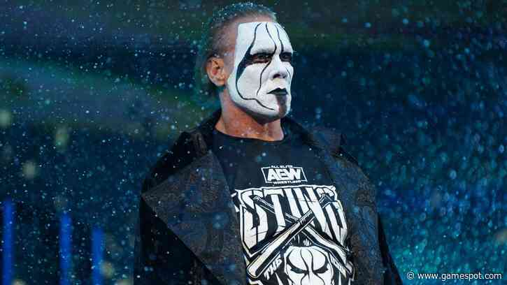 Wrestling Icon Sting Officially Joins AEW