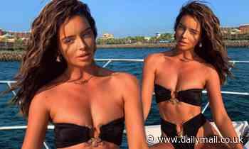 Love Island's Maura Higgins showcases her phenomenal figure