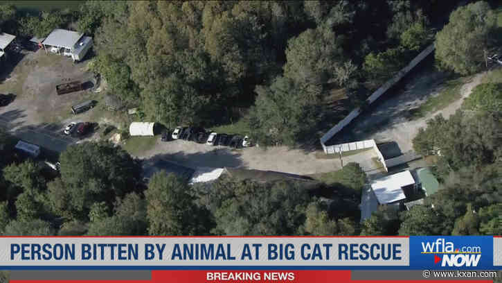 Animal bites, seriously injures person at Carole Baskin's Big Cat Rescue in Tampa
