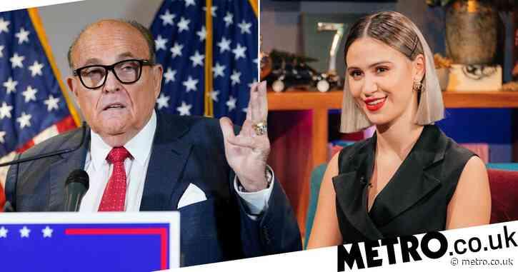 Borat 2's Maria Bakalova opens up on Rudy Giuliani scene: 'He touched me first'