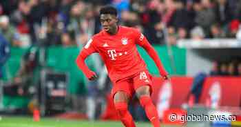 Edmonton-raised Alphonso Davies voted Canada's top soccer player