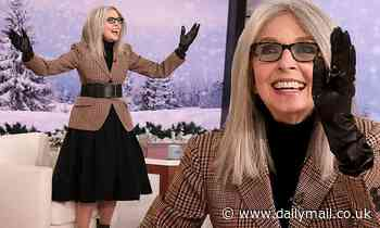 Diane Keaton jokes about being lonely during a visit to Ellen DeGeneres: 'I could use a man or two'
