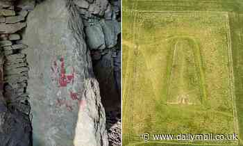 'Pagan' vandals hunted after leaving handprints on 5,000-year-old neolithic tomb as 'sacrifice'