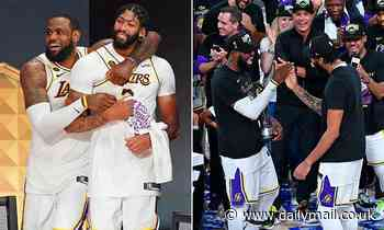 Anthony Davis 'agrees to a five-year, $190 million deal' to stay with LeBron James and Lakers