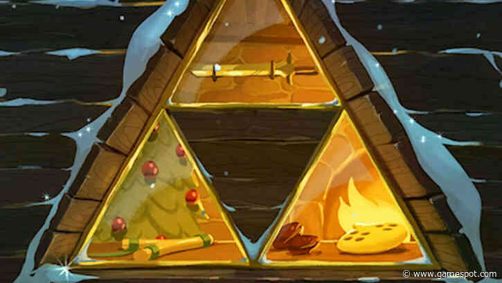 A Merry Hyrule Christmas Brings The Festive Season To The Legend Of Zelda