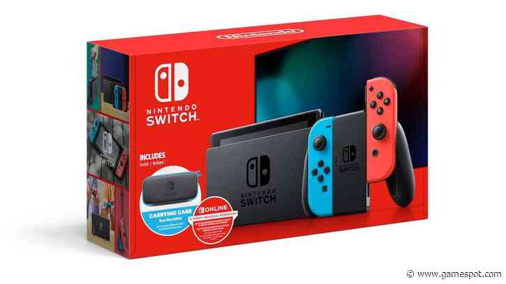 Walmart Has A New Nintendo Switch Bundle, And It's A Pretty Good Deal