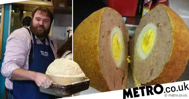 Creator of the world's biggest scotch egg doesn't believe they count as a substantial meal