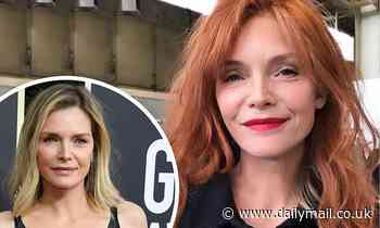 Michelle Pfeiffer shares throwback of going from blonde to red for upcoming film French Exit