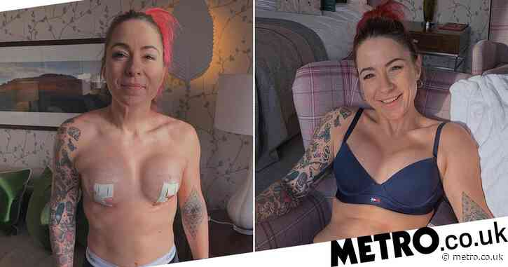 Lucy Spraggan has her new boobs and 'can't wait to get back into the bedroom'