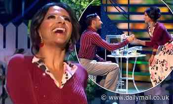 Strictly's Ranvir and Giovanni continue to fuel romance rumours in intense clip