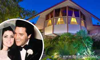 Elvis Presley's Honeymoon Hideaway in Palm Springs hits the market AGAIN for $2.5M