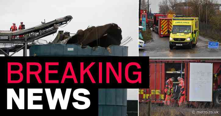 Four dead after 'large explosion' at water plant in Bristol