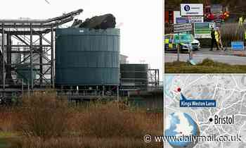 Four people killed and one injured after chemical tank explodes at sewage works in Bristol