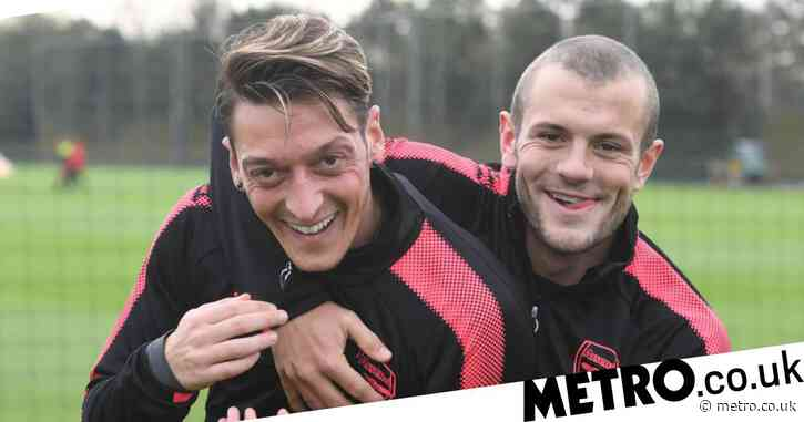 Jack Wilshere urges Mikel Arteta to reinstate Mesut Ozil as former midfielder reveals he'd jump at chance to rejoin Arsenal
