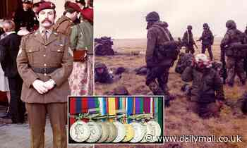 Falklands War veteran, 70, sells his medals for £150,000 to help fund his retirement