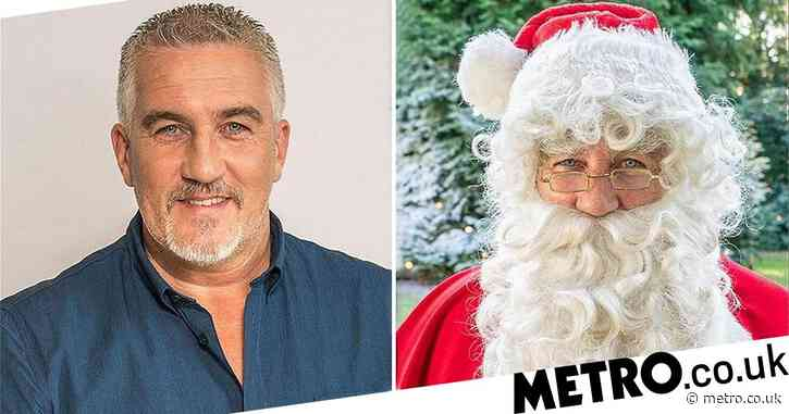 Great British Bake Off: Paul Hollywood's Father Christmas transformation is the festive glow-up we need right now