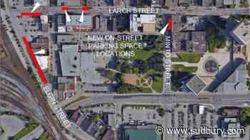Downtown could be gaining up to 13 new on-street parking spots