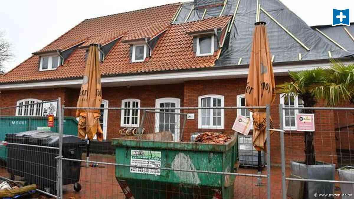 """Brandstiftung in Ganderkesee: Alter Bahnhof soll neu aufgebaut werden - Zuletzt Restaurant """"Don Gantero"""" - Nordwest-Zeitung"""
