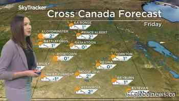 Sunny conditions continue: Dec. 3 Saskatchewan weather outlook