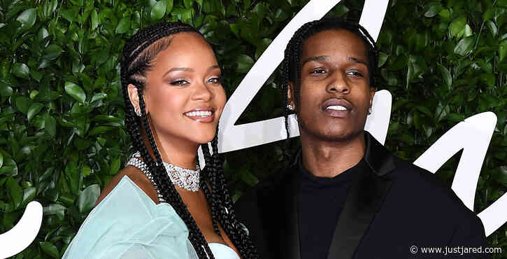 Rihanna & Rumored Boyfriend A$AP Rocky Photographed Together for First Time Amid Dating Rumors