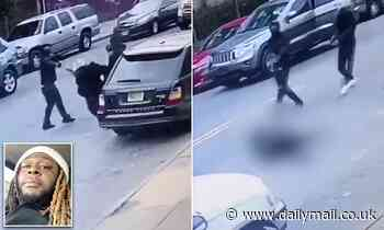 New Jersey rapper Tripple Beanz, 29, is shot dead on Newark street - Daily Mail