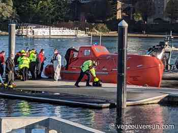 Transportation Safety Board team to probe lifeboat incident off Vancouver
